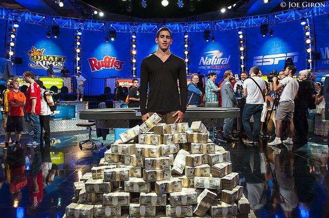 Daniel Colman won one of the biggest prizes in poker history.