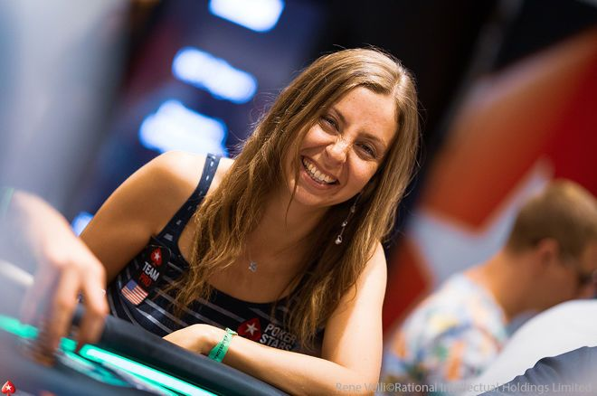 Maria Konnikova breaks down a hand she played on 'Poker Night In America' on the Chip Race