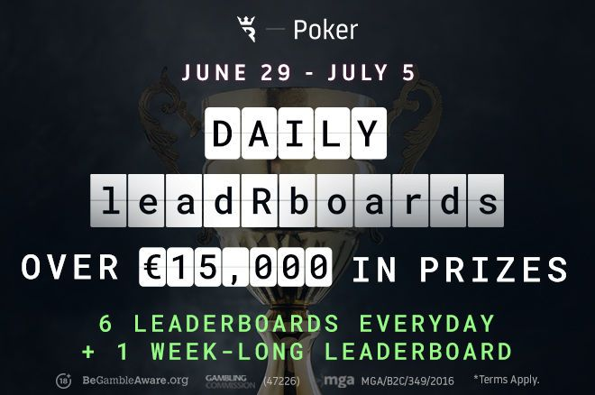 The Run It Once Poker leadRboards are becoming increasingly popular, with increased prizes and payouts!