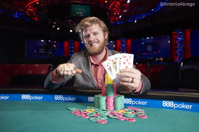 "Nathan ""surfbum"" Gamble Wins Second PLO8 WSOP bracelet"