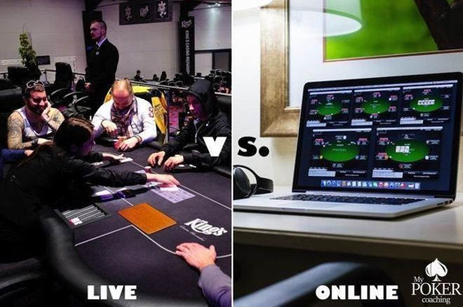 Transitioning from Live to Online Cash Games
