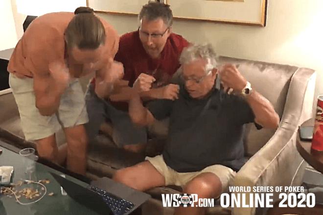Ron McMillen joga poker online pela primeira vez aos 70 anos e ganha bracelete WSOP