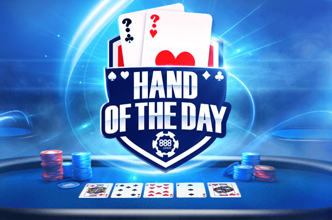 Win Up to $1,000 with the 888poker Hand of the Day