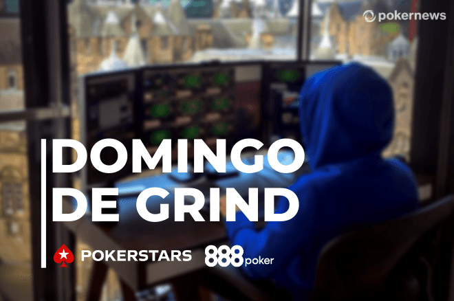 Domingo de grind na PokerStars e 888poker