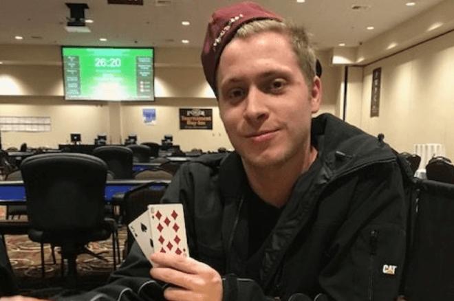 """WSOP Gold Bracelet for Guy """"PhilLaak"""" Dunlap in"""