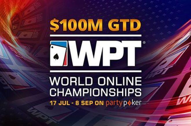 partypoker revela calendário final do WPT World Online Championships com US$ 100M GTD
