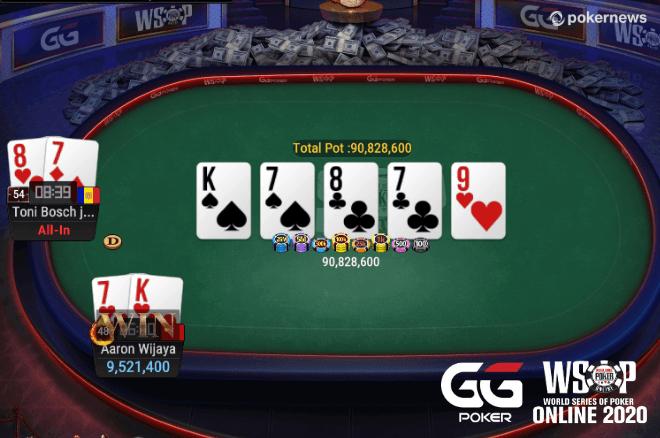 Aaron Wijaya vence Evento #38: $600 Monster Stack 6-Max das WSOP Online ($171.389)