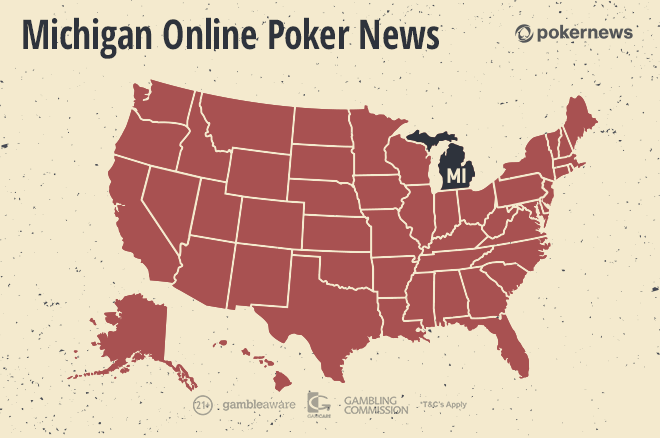 Online poker in Michigan looks likely to be border-locked.