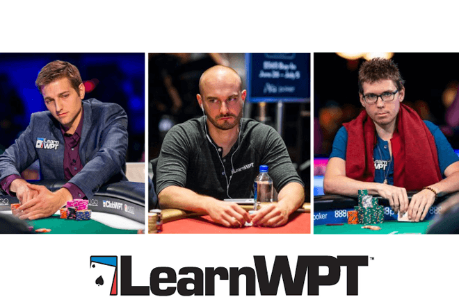 LearnWPT instructors Tony Dunst and Nick Binger added bracelets to their resumes with Andrew Lichtenberger also running deep
