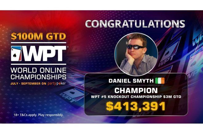 Satellite-Winner Daniel Smyth Wins WPT World Online Championships Knockout Championship ($428,391)
