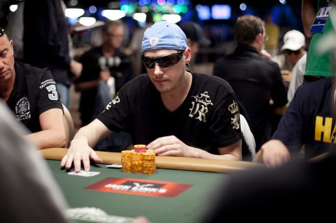 Dustin Woolf once played poker for millions online.