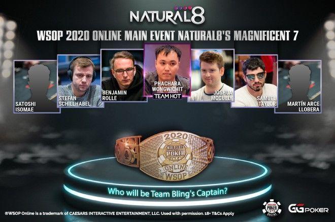 Tujuh Pemain Natural8 Di Antara 38 Final di Acara Utama $ 5.000