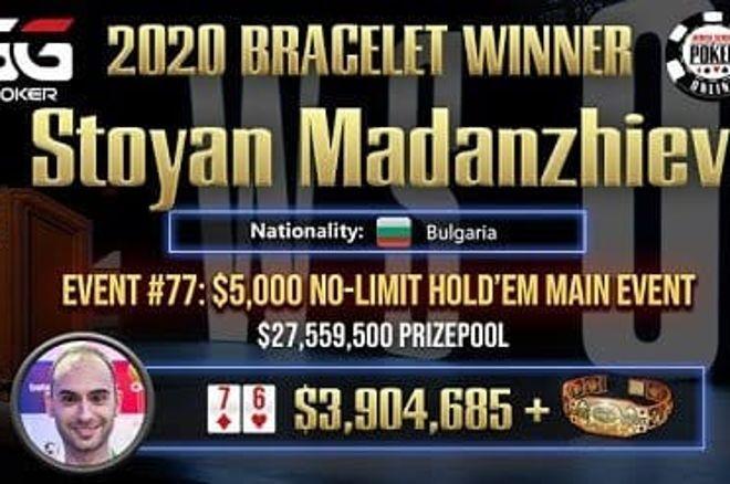 Стоян Маданжиев WSOP 2020 Online победа