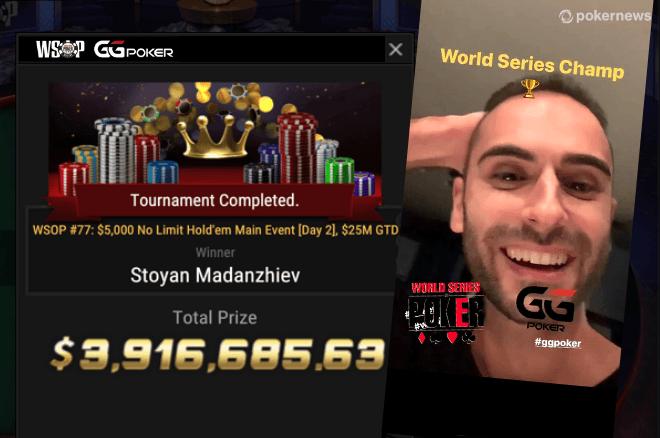 Stoyan Madanzhiev é o novo campeão do mundo de poker!