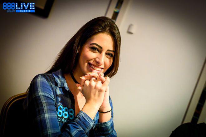 888poker Ambassador Vivian Saliba