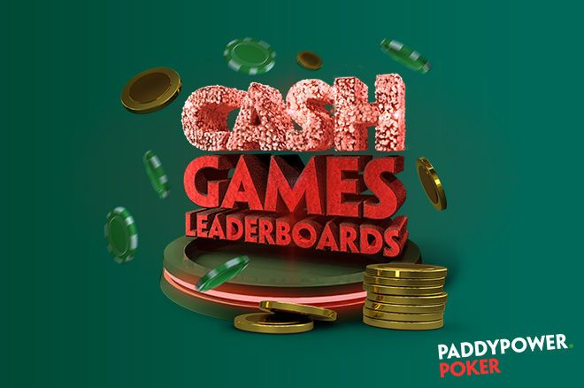Paddy Power Poker Cash Game Leaderboards