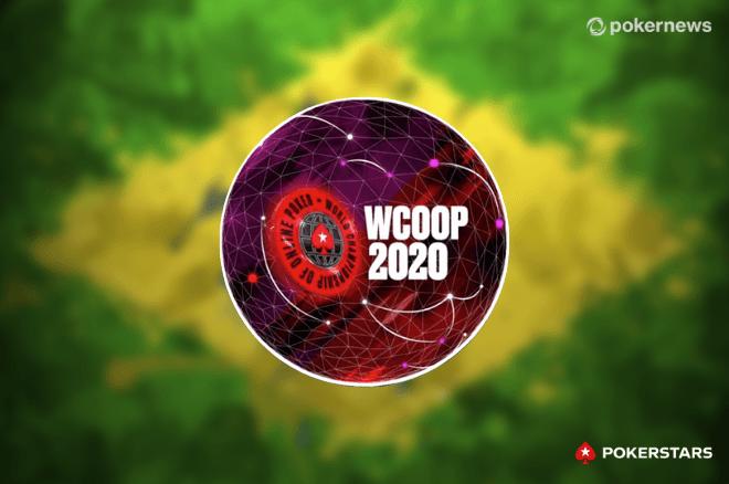 Brasil termina WCOOP 2020 no topo do ranking de títulos por países