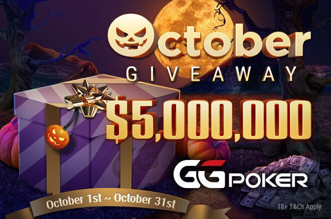 GGPoker $5 Million October Giveaway