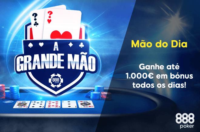 Promoção 'Mão do Dia' da 888poker