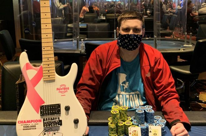 David Sweeley was the biggest winner of the festival at Seminole Hard Rock.