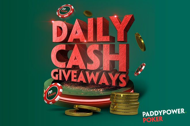 Paddy Power Poker Daily Cash Giveaways
