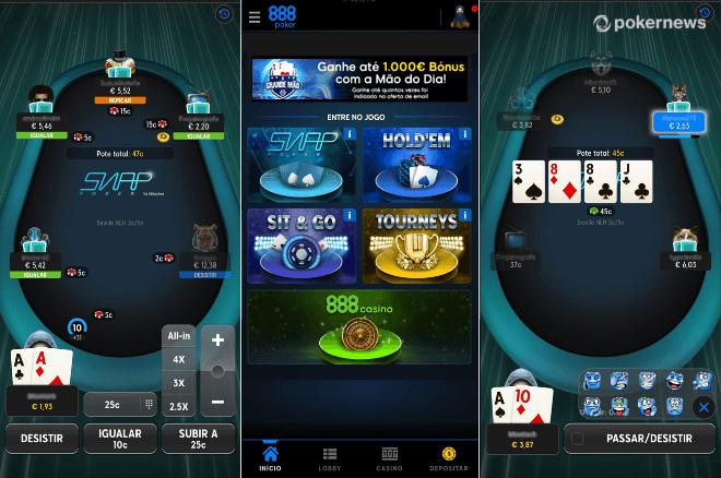 888poker.pt lança nova App de poker com novos gráficos e modo retrato