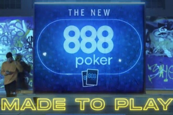 NEW 888poker Online Mobile Poker App; Made to Play