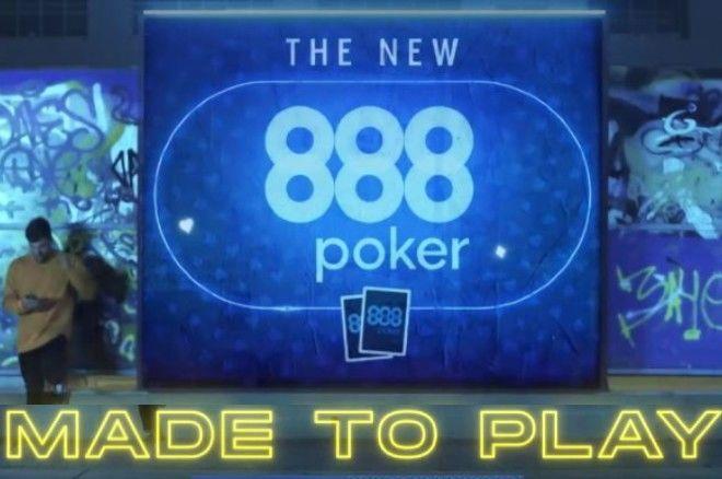 Aplikasi Poker Seluler Online 888poker BARU;  Dibuat untuk Dimainkan