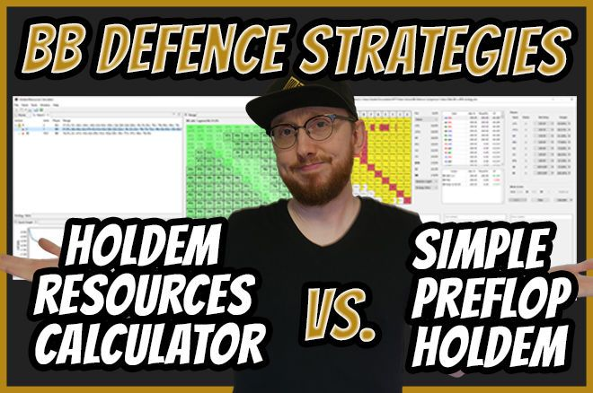 Big Blind Defense - Holdem Resources Calculator vs. Simple Preflop Holdem
