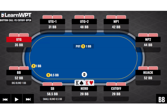 WPT GTO Trainer Hands of the Week: Defending your Button on Shallow Stacks
