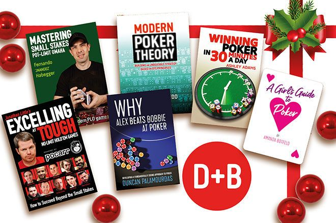 2020 PokerNews Holiday Gift #1: Books from D & B Poker
