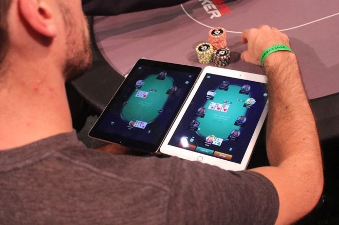 Online poker players have plenty to choose from this weekend.
