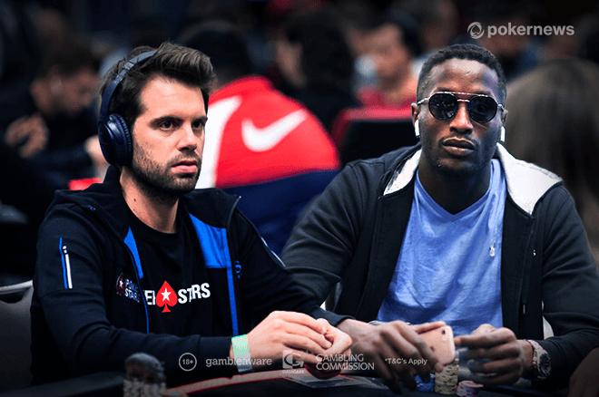PokerStars Ambassadors Ramon Colillas and Kalidou Sow