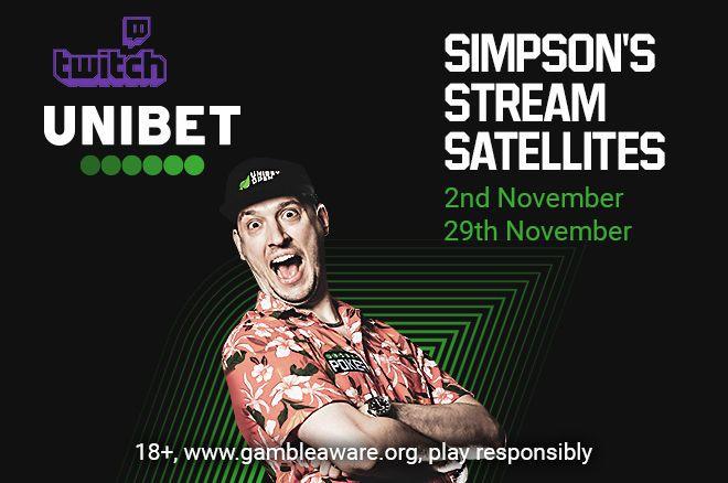 Unibet Poker Simpson Stream Satellites