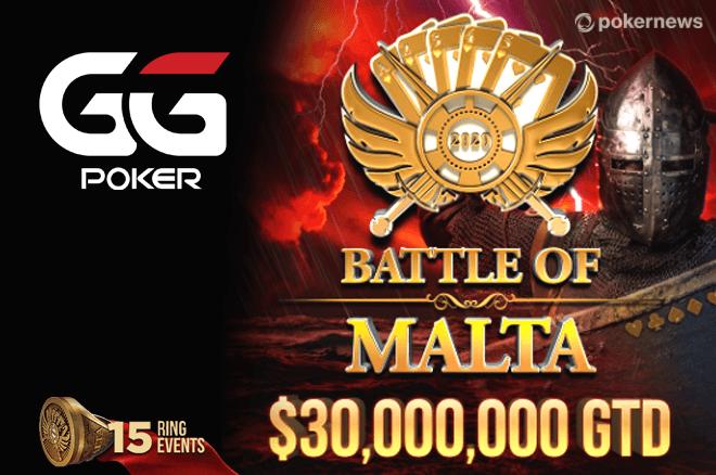 Battle of Malta Online na GGPoker