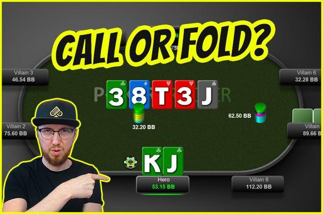 Panggil atau Lipat PokerNews Gareth James Poker