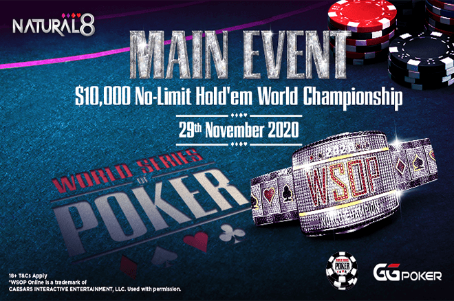 Natural8 2020 WSOP Main Event