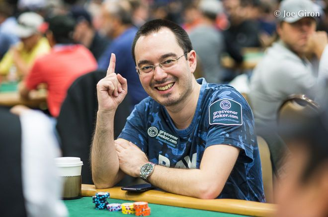 Will Kassouf Like a boss WSOP Main Event bluff