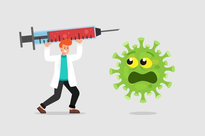 Vaksin poker virus korona