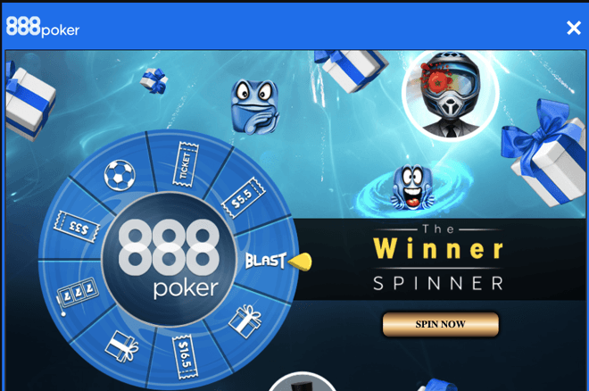 888poker Winner Spinner