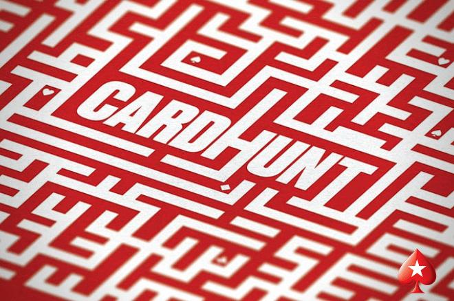 Ganha até €5.000 em bónus todos os dias na Card Hunt da PokerStars