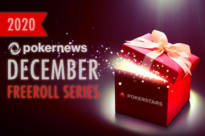 PokerNews December Freeroll SEries with $5,000 guaranteed prize pool poker tournament on PokerStars