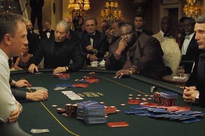 James Bond poker hand in Casino Royale