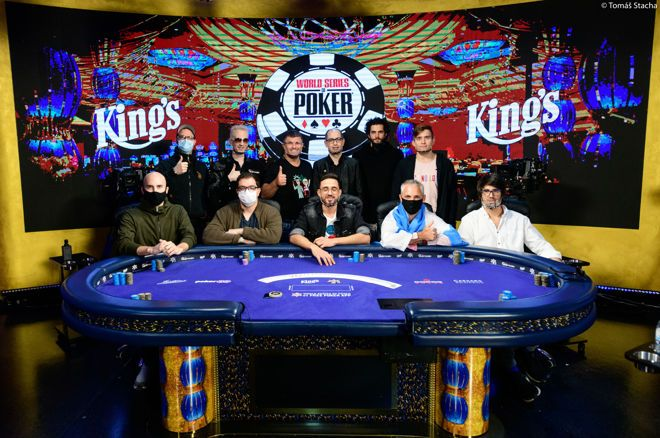 WSOP Main Event Finaletafel
