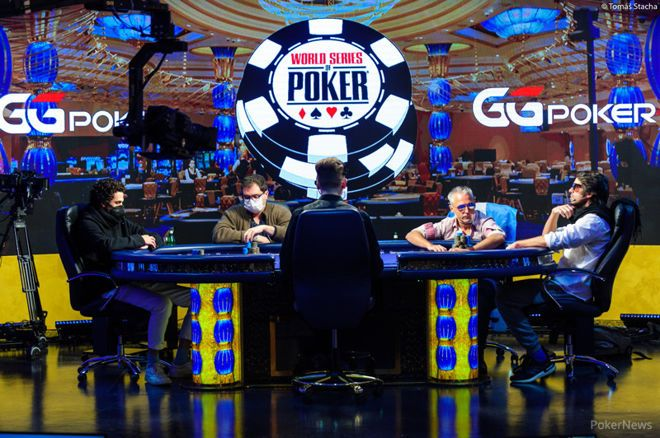 Mesa final do WSOP Main Event 2020