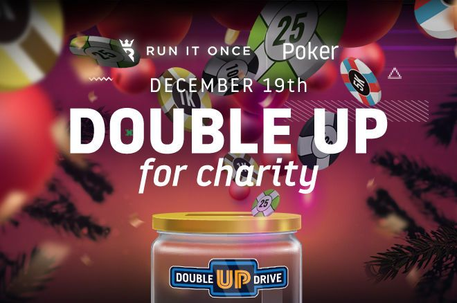 Run It Once Double Up For Charity