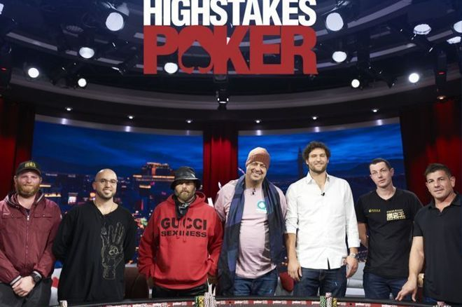 The return of High Stakes Poker saw plenty of action.
