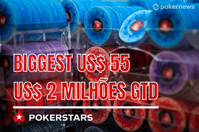 Biggest US$ 55 do PokerStars