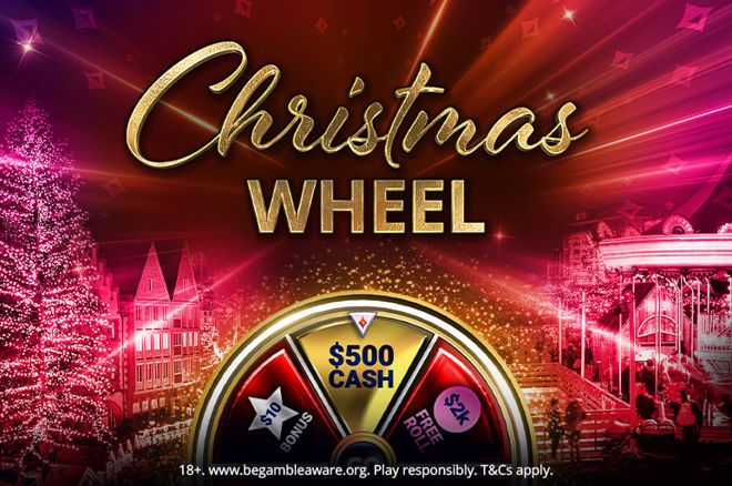 Christmas wheel partypoker