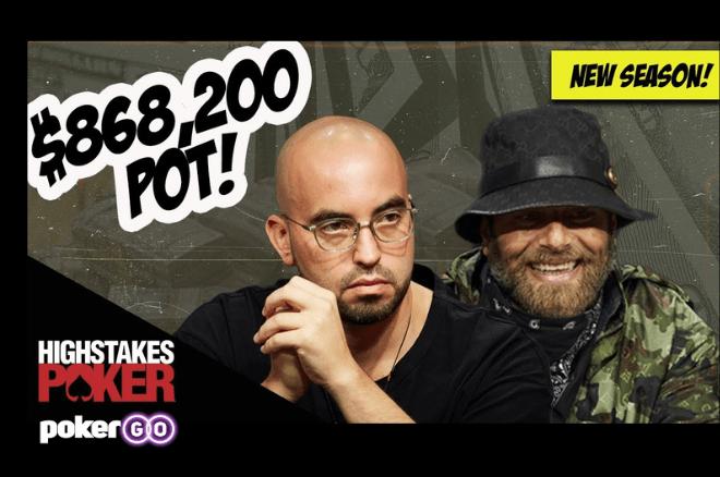 Pote de $868.200 na nova temporada do High Stakes Poker